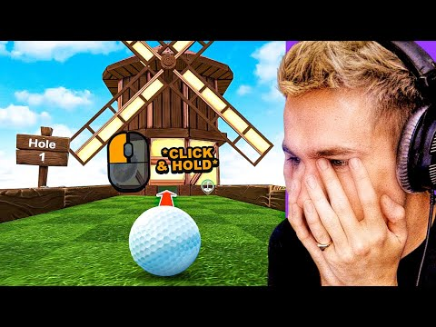 THIS PLAYER NEEDED THE TUTORIAL? (Golf With Your Friends)