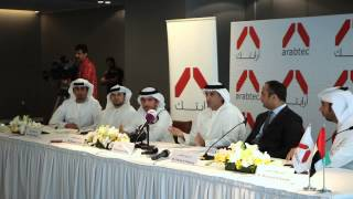 Khadem Al Qubaisi fields questions about Arabtec