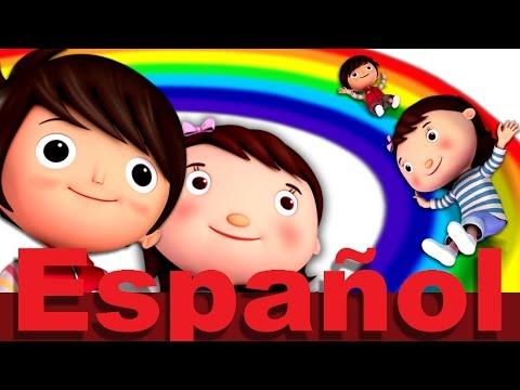 La canción de los colores del arco iris | Canciones infantiles | LittleBabyBum