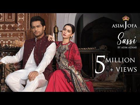sassi---asim-azhar-(feat.-hania-aamir)- -asim-jofa-luxury-lawn-collection-2020