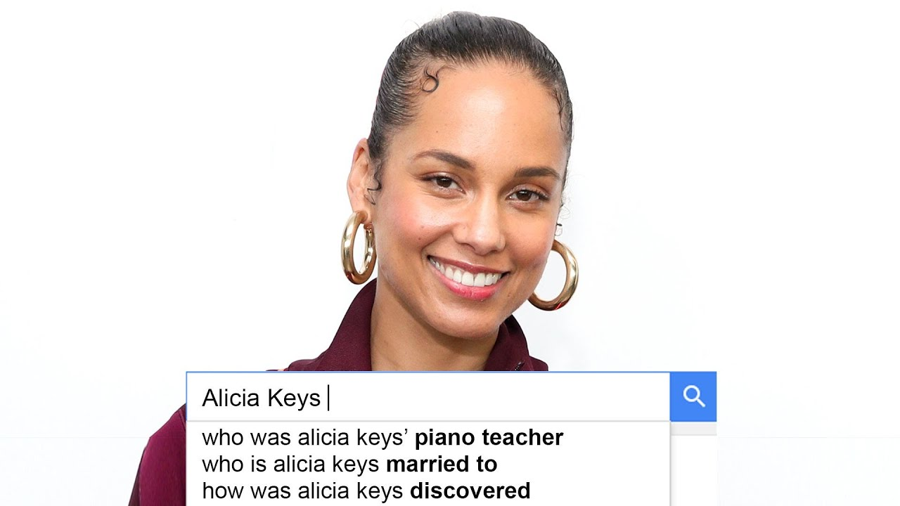Alicia Keys Answers the Web's Most Searched Questions