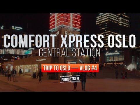REVIEW: Comfort Xpress Oslo Central Station: All Room Types! — Trip To Oslo VLOG #4