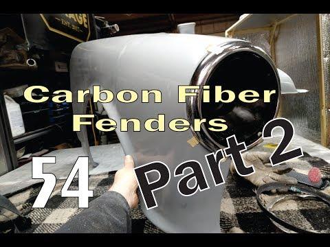 DIY Carbon Fiber Fenders: Part 2 - Finishing the Job.  (Ep. 54)
