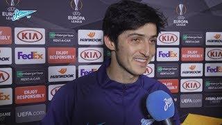 Сердар Азмун: «Я простой молодой футболист, выхожу на поле и делаю свою работу»