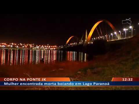 DFA - Mulher encontrada morta boiando em Lago Paranoá