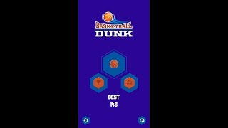 Basketball Dunk [Touchscreen Java Games]