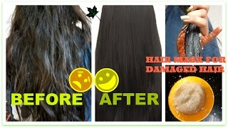 30-minute magical mask for dry,fizzy,rough,dandruff,damaged hair and split ends