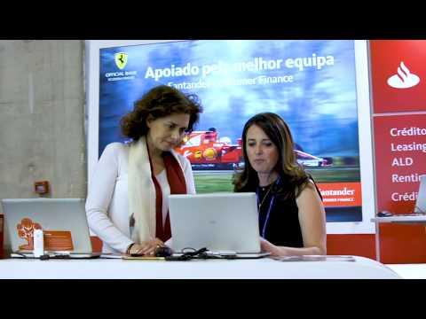 Santander Consumer no Moto Show