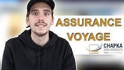 Choisir son assurance voyage / Avis sur Chapka assurances !