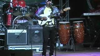 Mike Rua performs at Safaricom KENYA LIVE Meru Concert
