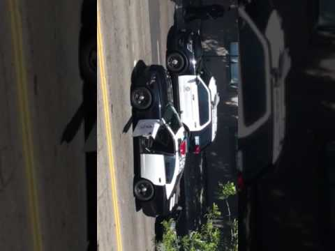 Chase and arrest in Belair California
