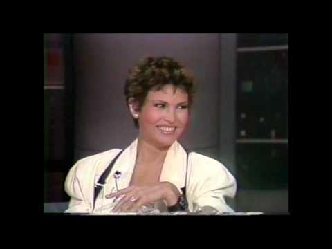 Late Night with David Letterman. Raquel Welch - Feb 17, 1986