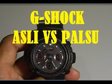 G Shock Asli vs Palsu Cara Membedakannya 6223cca975