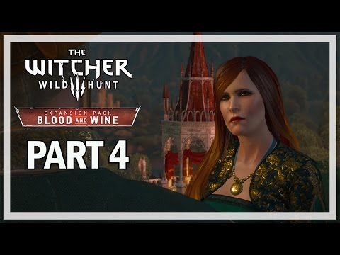 The Witcher 3: Blood and Wine Walkthrough Part 4 Vampires - PS4 Gameplay