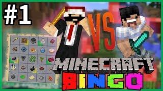 【Minecraft】Bingo #01 - 永樂 vs 嘉神 另類UHC集郵挑戰?