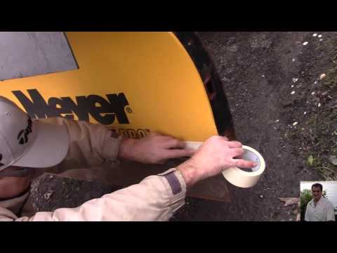 004 Snow Plowing Tips For Beginners Meyer Plow Quick Paint Job With Rust Reformer