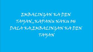 Download MORO SONG EMBALINGAN KA DEN TAYAN. MP3 song and Music Video
