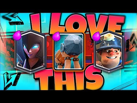 *NEW* BATTLE RAM NIGHT WITCH deck is AWESOME!