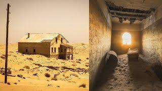 ナミビアの砂に消えた無人の街