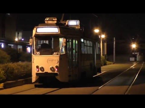 Tramway History - The Last Rostered Z1 Passenger Run Ins Melbourne