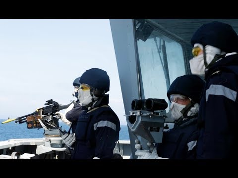 Flag Officer Sea Training - the high standards of training i