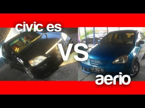 civic es vs aerio,.modifikasi bemper/bodykit,body repaint,body repair