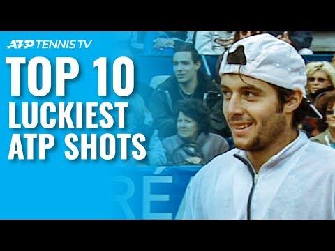 Top 10 Luckiest ATP Tennis Shots