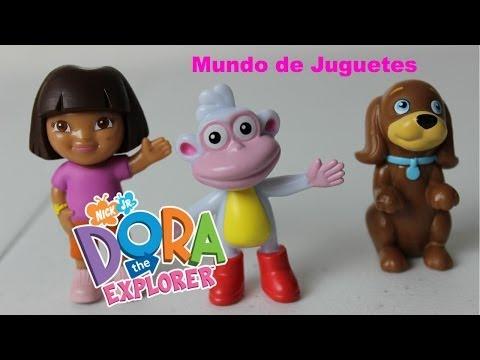 Juguetes de Dora la Exploradora Figuras|Video De Dora La Exploradora en Español