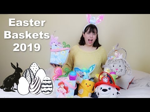 What's In My 5 Kids' Easter Baskets?-Dollar Tree Kids' Easter Baskets 2019