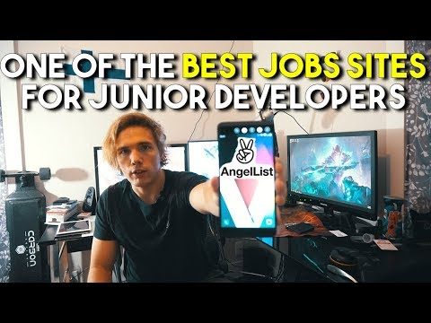 One Of The BEST Places For Junior Developers To Apply For Jobs! (Angel List)