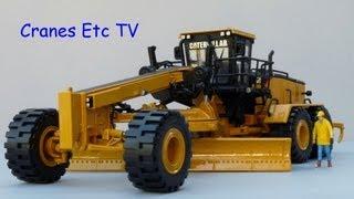 Norscot Caterpillar 24M Motor Grader by Cranes Etc TV