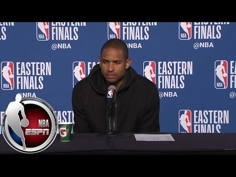 [FULL] Al Horford on Cavaliers: 'I don't think they're doing anything different'   NBA on ESPN