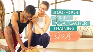 Online Yoga Teacher Training - All Your Questions Answered | Q&A