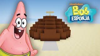 Como hacer la casa de PATRICIO ESTRELLA de BOB ESPONJA en MINECRAFT