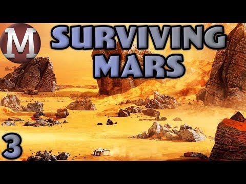 Let's Play Surviving Mars - Part 3 - First Passenger Rocket!
