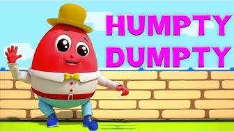 Humpty Dumpty saß an der Wand   Kinderreime   Lied für Babys   Deutsch Kinderlied   Humpty Dumpty