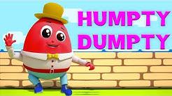 Humpty Dumpty saß an der Wand | Kinderreime | Lied für Babys | Deutsch Kinderlied | Humpty Dumpty
