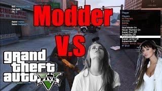 GTA 5 Modder V.S Two Racist Girls