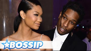 A$AP Rocky And Chanel Iman Are Engaged! | BOSSIP
