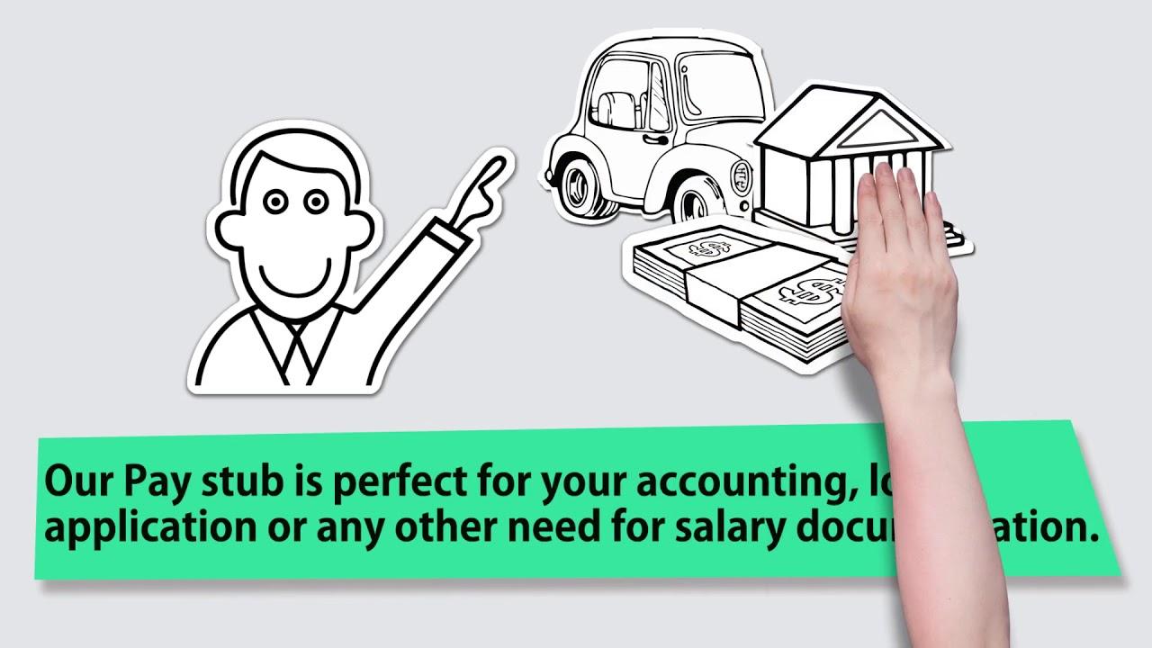 Paycheck Stubs Online | Pay Stub Makr