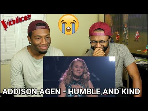 """The Voice 2017 Addison Agen  Finale: """"Humble and Kind"""" REACTION"""