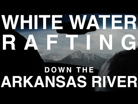 White Water Rafting Down The Arkansas River