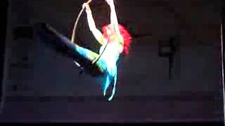 Amy Williams   Advanced Hoop WINNER   Emmas Pole Dancing Competition