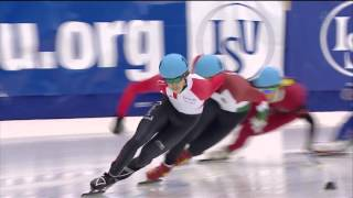 Samuel Girard/ Men`s 500m semifinal #2  - ISU World Cup Short Track Speed Skating Toronto