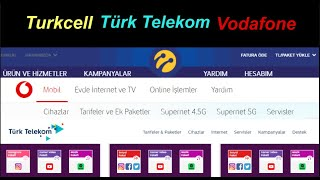 Türk Telekom, Turkcell ve Vodafone (Mobil İnternet ne durumda?)