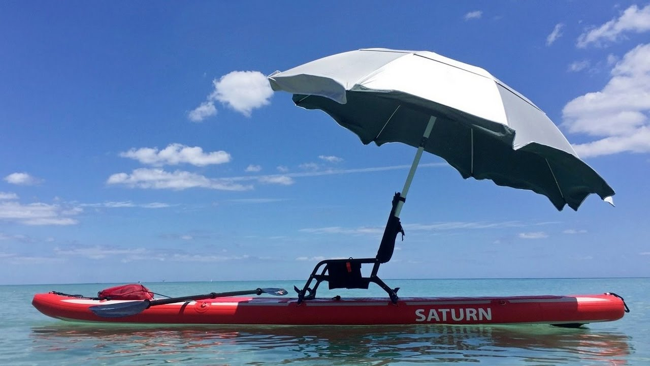 Saturn SUP paddle board luxury edition with chair and umbrella