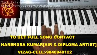 Gananayakaya sankar mahadevan on keyboard Part-1