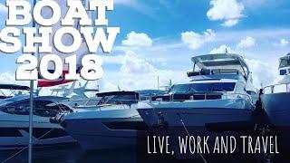 ЯХТА ЗА 25 МИЛЛИОНОВ$!!!! Дорогая жизнь в Майами. Яхт шоу 2018