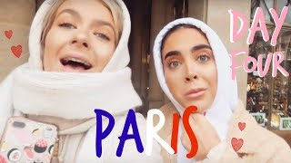 PARIS DAY FOUR! | OUR LAST DAY! | Sophia and Cinzia