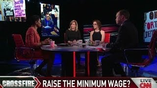 On Crossfire: Should the minimum wage be raised?